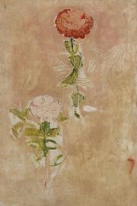 Zynien, Studie by Ferdinand Hodler