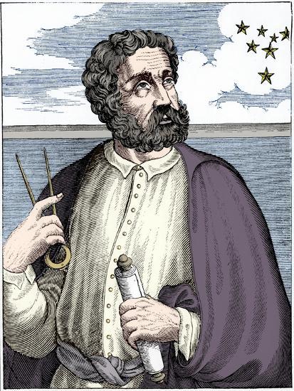 Ferdinand Magellan (c1480-c1521), Portugese navigator-Unknown-Giclee Print