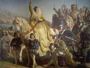Queen Elizabeth of England Takes Review in Face of the Spanish Armada, 1588 by Ferdinand Piloty