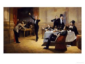 The Dinner Party by Ferencz Paczka