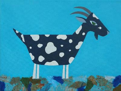Fergus the Goat-Casey Craig-Art Print