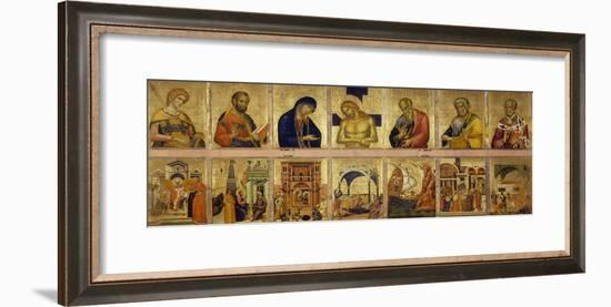 Ferial Altarpiece-Paolo Veneziano-Framed Giclee Print