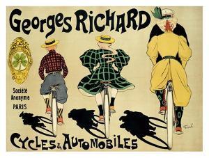 Georges Richard by Fernand Fernel