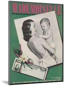 Mademoiselle Cover - June 1944 by Fernand Fonssagrives