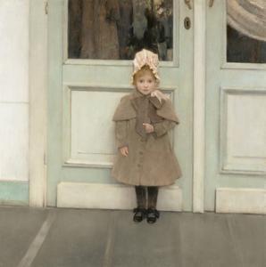 Jeanne Kefer, 1885 by Fernand Khnopff