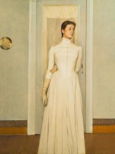 Marguerite, the Artist's Sister by Fernand Khnopff