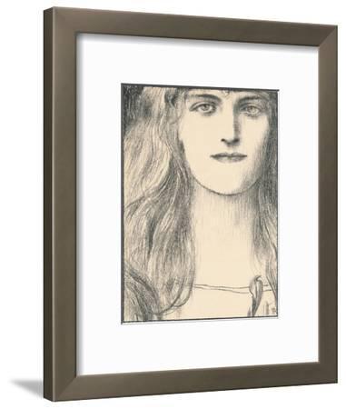 Une Tete De Face, 1898