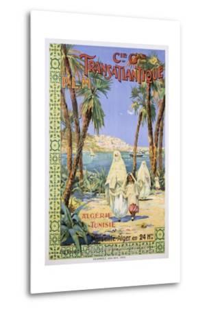 Transatlantique P.L.M. Poster