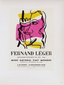 AF 1949 - Musée National D'Art Moderne by Fernand Leger