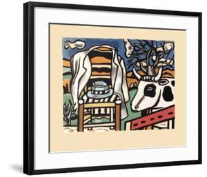 La chaise by Fernand Leger