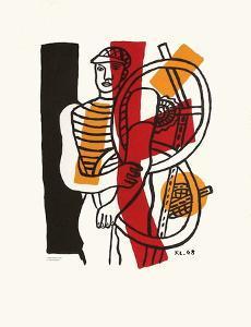 Le CycIIste I by Fernand Leger