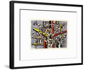 Les constructeurs by Fernand Leger