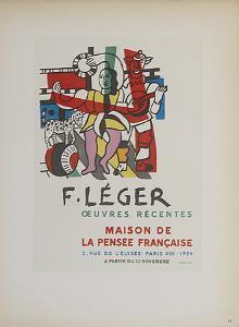 Maison de la Pensee Francaise by Fernand Leger