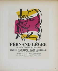 Musee National d'Art Moderne by Fernand Leger
