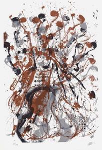 Trio cordes II by Fernandez Arman