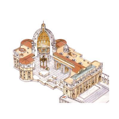 St, Peter's Basilica, Vatican City, Rome, Italy