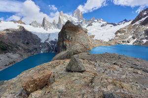 Lago de los Tres and Mount Fitz Roy, Patagonia, Argentina, South America by Fernando Carniel Machado
