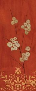 Sienna Flowers II by Fernando Leal