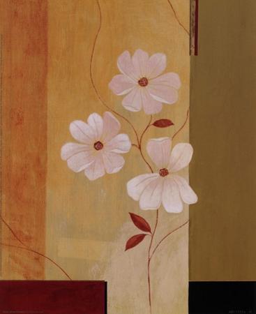 Three White Flowers I