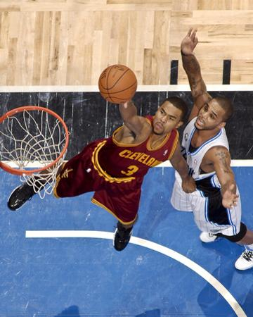 Cleveland Cavaliers  v Orlando Magic: Ramon Sessions and Jameer Nelson