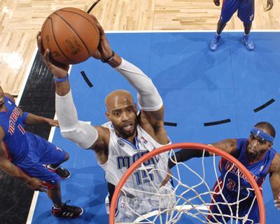Detroit Pistons v Orlando Magic: Vince Carter