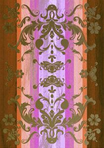 Floral Shapes Original IX by Fernando Palma