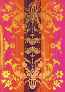 Floral Shapes Original X by Fernando Palma