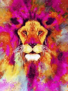 Lion Mix 3-XLII by Fernando Palma