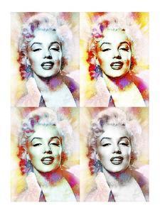 Marilyn Monroe 4-XLV by Fernando Palma