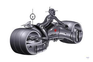 Megafuture Megacyke XXIX by Fernando Palma