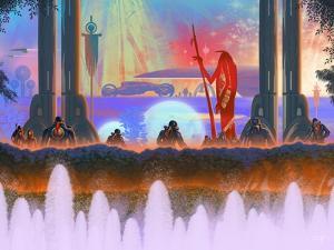 Megafuture World XXXI by Fernando Palma