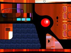 Retro Nouveau Background XLV by Fernando Palma