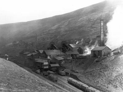 Fernhill Colliery--Photographic Print