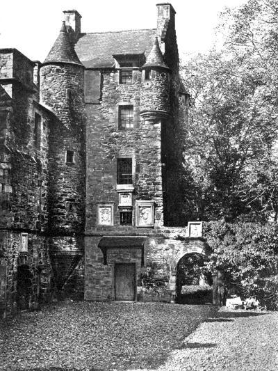 Ferniehirst Castle, Jedburgh, Borders, Scotland, 1924-1926-Valentine & Sons-Giclee Print