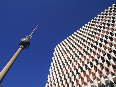 Fernsehturm, Alexanderplatz, Berlin, Germany-Jon Arnold-Photographic Print