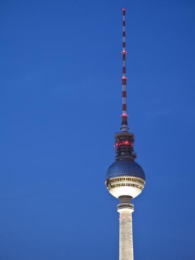 Fernsehturm (Tv Tower), Berlin, Germany-Jon Arnold-Photographic Print
