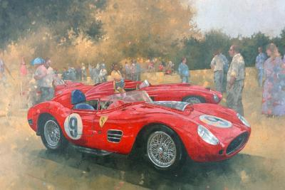 Ferrari, Day Out at Meadow Brook-Peter Miller-Giclee Print