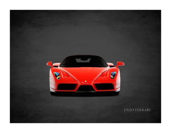 Verwonderend Ferrari Enzo Front Giclee Print by Mark Rogan   Art.com HV-98
