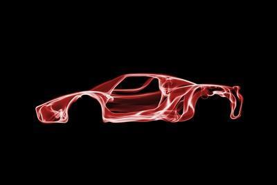 "Poster 24/"" x 36/"" Ferrari Enzo Luxury Yellow"
