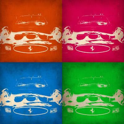 Ferrari Front Pop Art 1-NaxArt-Art Print