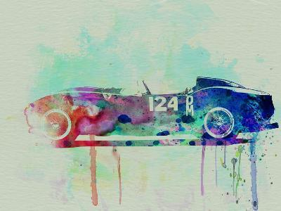 Ferrari Testa Rossa Watercolor 2-NaxArt-Art Print
