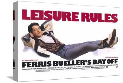 Ferris Bueller's Day Off--Stretched Canvas Print