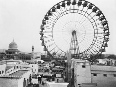 Ferris Wheel at Chicago Exposition