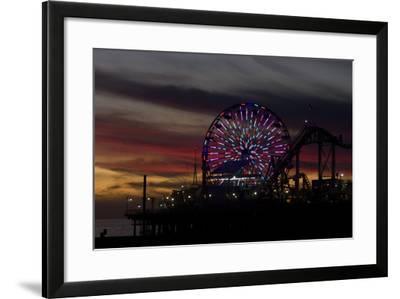 Ferris Wheel at Dusk-Natalie Tepper-Framed Photographic Print