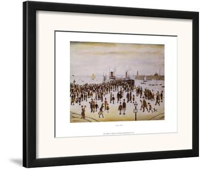 Ferry Boats-Laurence Stephen Lowry-Framed Art Print