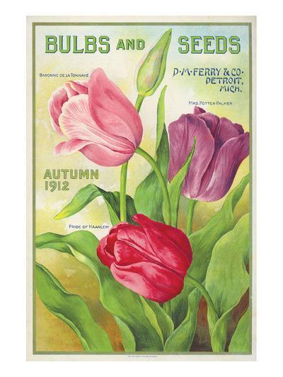 Ferry Bulbs and Seeds Detroit--Art Print