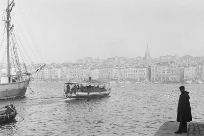 Ferry in Marseille--Photographic Print