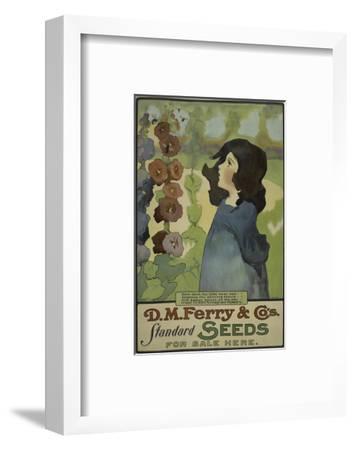 Ferry Standard Seeds--Framed Art Print