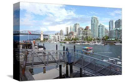 Ferry Terminal Vancouver BC--Stretched Canvas Print
