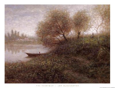 Ferryman-Jon McNaughton-Art Print